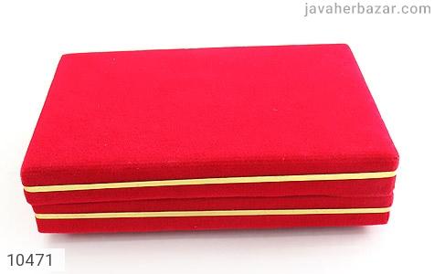 جعبه جواهر مخمل مستطیل - تصویر 2