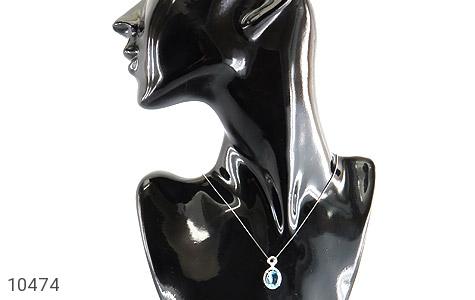 سرویس توپاز آبی درشت طرح جواهر زنانه - عکس 11