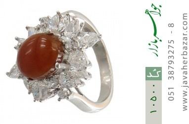 انگشتر عقیق یمن - کد 10500