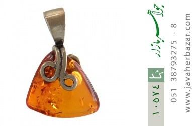 مدال کهربا بولونی لهستان عسلی خوش رنگ - کد 10574