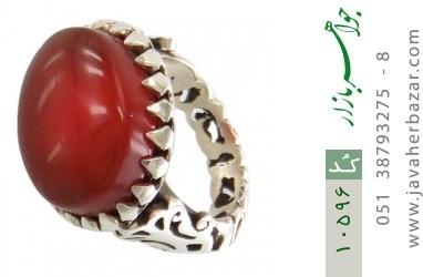 انگشتر عقیق یمن - کد 10596