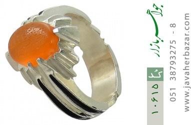 انگشتر عقیق یمن حکاکی و من یتق الله شرف الشمس استاد ضابطی هنر دست استاد حداد - کد 10615