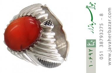 انگشتر عقیق یمن هنر دست استاد عبداللهی - کد 10692