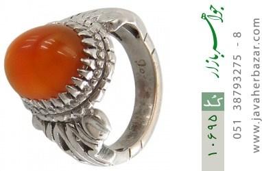 انگشتر عقیق یمن - کد 10695