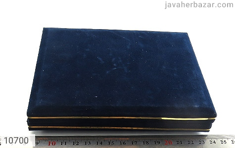 جعبه جواهر مخمل سایز بزرگ - عکس 3