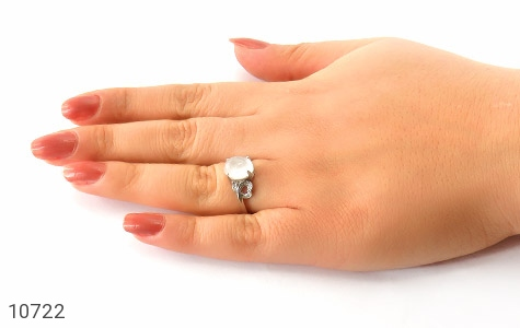 انگشتر دُر نجف طرح شمیلا زنانه - عکس 7
