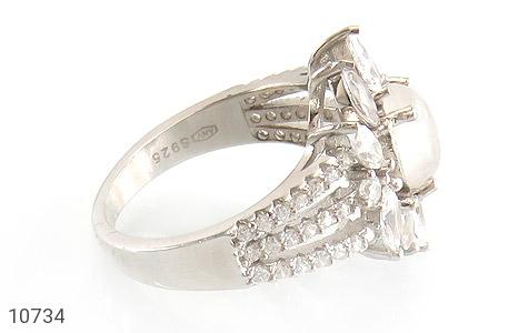 انگشتر دُر نجف طرح جواهری زنانه - عکس 3