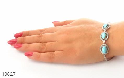 دستبند فیروزه نیشابوری - عکس 5