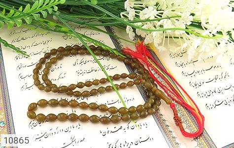 تسبیح شاه مقصود 101 دانه افغان رنگ خاص - عکس 3