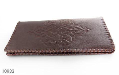 کیف چرم طبیعی دست دوز طرح دار - تصویر 2