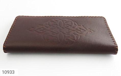 کیف چرم طبیعی دست دوز طرح دار - عکس 3