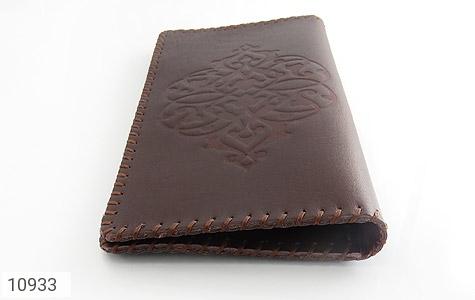 کیف چرم طبیعی دست دوز طرح دار - تصویر 4