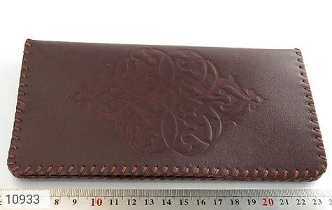 کیف چرم طبیعی دست دوز طرح دار - تصویر 8