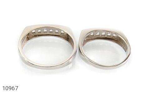 حلقه ازدواج نقره طرح یکتا - تصویر 4