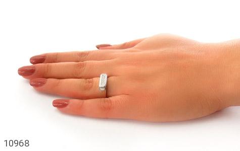 حلقه ازدواج نقره طرح همدم - تصویر 8