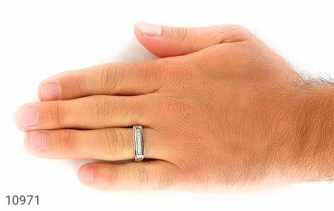 حلقه ازدواج نقره طرح محبوب - تصویر 8