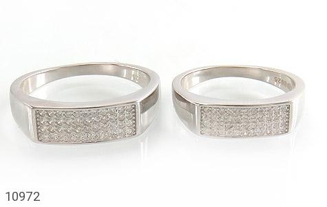 حلقه ازدواج نقره طرح سوده - تصویر 2
