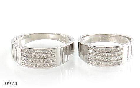 حلقه ازدواج نقره طرح اقلیما - تصویر 2