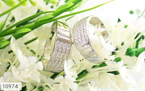 حلقه ازدواج نقره طرح اقلیما - عکس 5