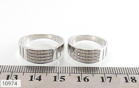 حلقه ازدواج نقره طرح اقلیما - تصویر 6