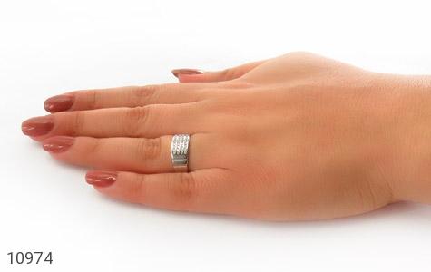 حلقه ازدواج نقره طرح اقلیما - عکس 7