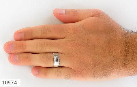 حلقه ازدواج نقره طرح اقلیما - تصویر 8