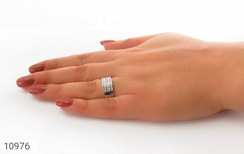 حلقه ازدواج نقره طرح باشکوه - عکس 7