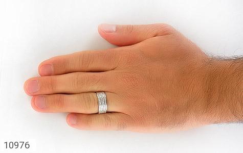 حلقه ازدواج نقره طرح باشکوه - تصویر 8