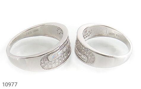 حلقه ازدواج نقره طرح رویا - عکس 3