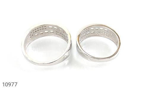 حلقه ازدواج نقره طرح رویا - تصویر 4