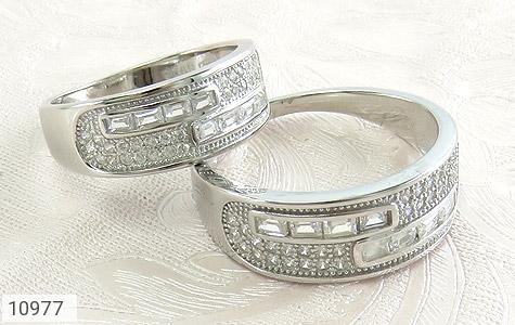 حلقه ازدواج نقره طرح رویا - عکس 5