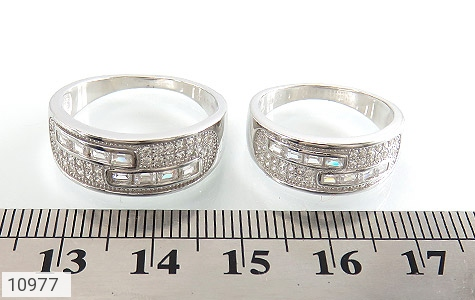 حلقه ازدواج نقره طرح رویا - تصویر 6