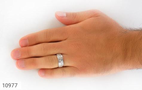 حلقه ازدواج نقره طرح رویا - تصویر 8