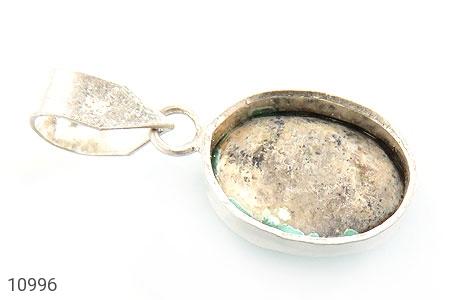 مدال فیروزه نیشابوری فریم دست ساز - عکس 3