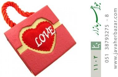 جعبه جواهر طرح Love - کد 1102