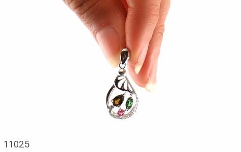 مدال تورمالین طرح نرمین زنانه - تصویر 4