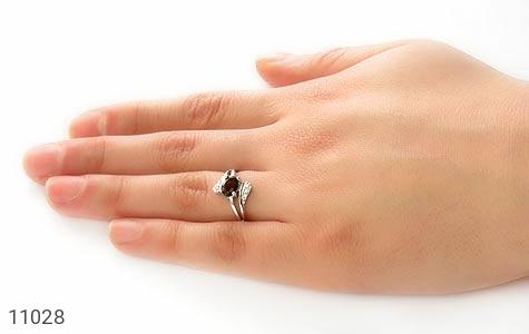 انگشتر تورمالین طرح عسل زنانه - عکس 5