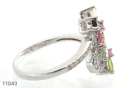 انگشتر تورمالین طرح عروس زنانه - عکس 3
