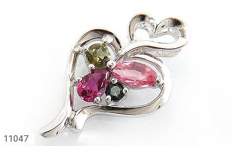 مدال تورمالین طرح عشق زنانه - عکس 1