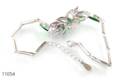 دستبند نقره طرح نازلی زنانه - تصویر 2
