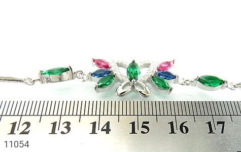 دستبند نقره طرح نازلی زنانه - تصویر 4
