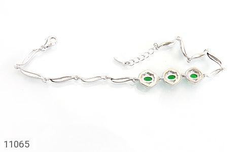 دستبند نقره درخشان طرح آنیما زنانه - تصویر 2