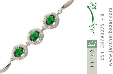 دستبند نقره درخشان طرح آنیما زنانه - کد 11065