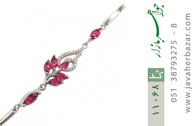 دستبند نقره مجلسی طرح جمیل زنانه - کد 11068