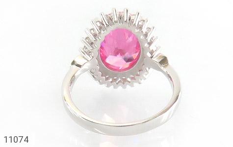 انگشتر نقره درشت طرح سایان زنانه - تصویر 4