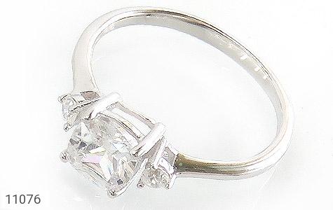 انگشتر نقره الماس نشان زنانه - عکس 1