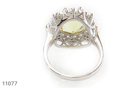 انگشتر نقره جواهری طرح ملکه زنانه - تصویر 4