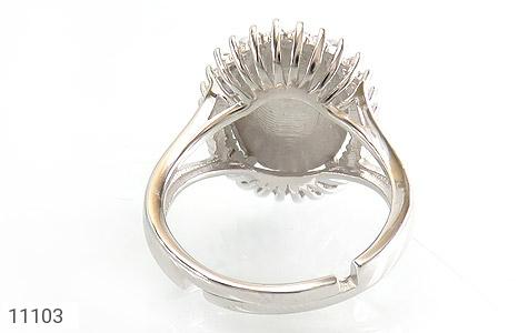 انگشتر نقره درشت طرح ماردین زنانه - تصویر 4