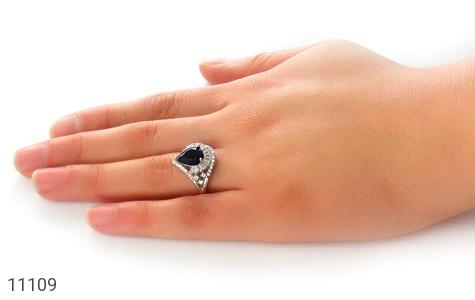 انگشتر نقره مجلسی طرح عروس زنانه - عکس 7