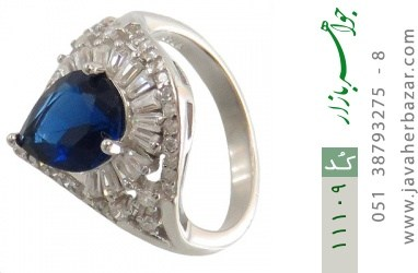 انگشتر نقره مجلسی طرح عروس زنانه - کد 11109